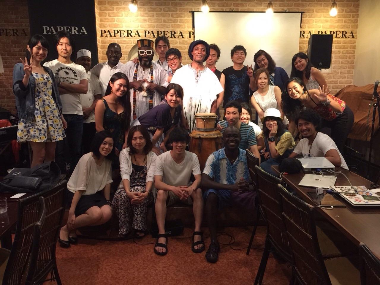 日本各地で行われるアフリカイベント African event in Japan