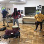 NPO文化学習協同ネットワーク居場所さまにてアフリカ交流!